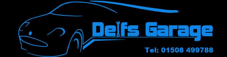Delfs Garage Logo
